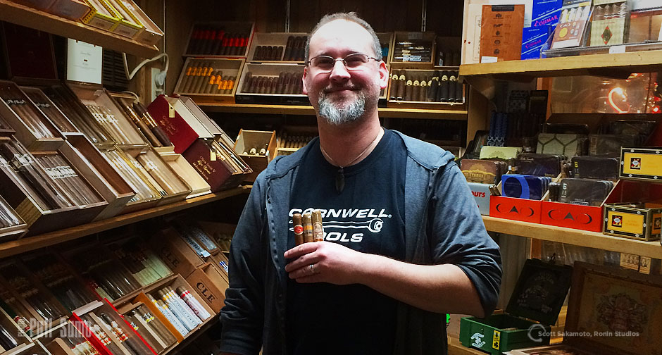 Cameron DeKany, 82nd Ave., 82nd Avenue Cigar and Pipe